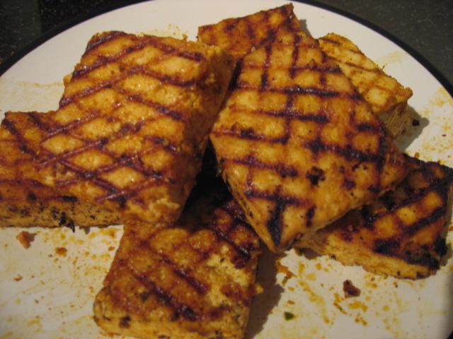 Sriracha-Grilled Tofu