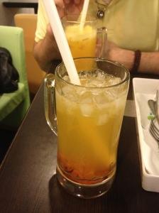 kumquat and chrysanthemum jelly tea