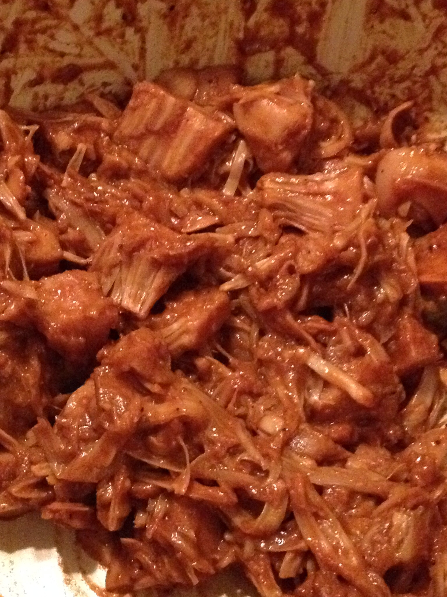"""Easy Vegan BBQ """"Pulled-Pork""""The Vegan Ronin"""